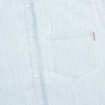Мужская рубашка Carhartt WIP Civil Blue Stone Bleached фото- 2