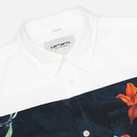 Мужская рубашка Carhartt WIP Gosling White/Tropic Print фото- 1