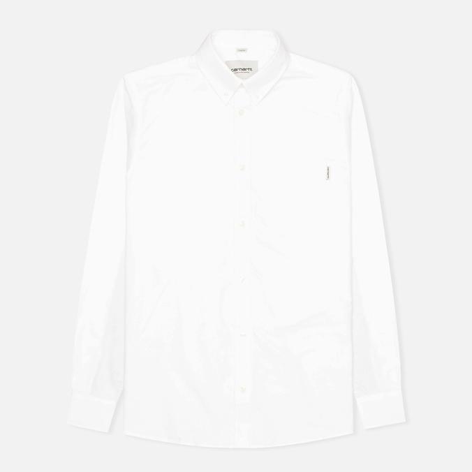 Мужская рубашка Carhartt WIP Raymond Oxford White/Tropic Print