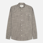 Carhartt WIP Robert Yarn Chambray Men's Shirt Black Rinsed photo- 0
