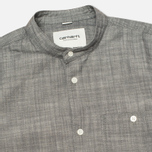 Мужская рубашка Carhartt WIP Robert Yarn Chambray Black Rinsed фото- 1