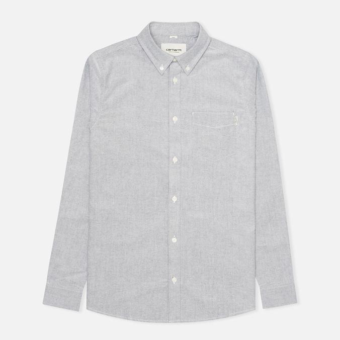Мужская рубашка Carhartt WIP Rogers Oxford Black