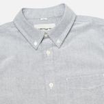 Мужская рубашка Carhartt WIP Rogers Oxford Black фото- 1