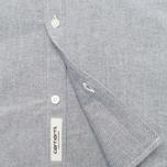 Мужская рубашка Carhartt WIP Rogers Oxford Black фото- 3
