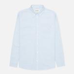Мужская рубашка Carhartt WIP Rogers Oxford Columbia фото- 0