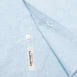 Мужская рубашка Carhartt WIP Rogers Oxford Columbia фото- 3
