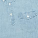 Мужская рубашка Carhartt WIP Roy Chambray Indigo Bleached фото- 2