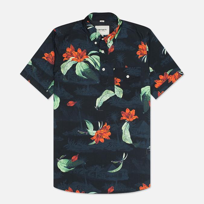 Мужская рубашка Carhartt WIP Roy Poplin Tropic Print