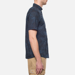 Мужская рубашка Carhartt WIP Short Sleeve Cayman Dark Blue фото- 1