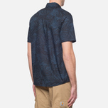 Мужская рубашка Carhartt WIP Short Sleeve Cayman Dark Blue фото- 2