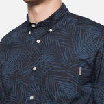 Мужская рубашка Carhartt WIP Short Sleeve Cayman Dark Blue фото- 5