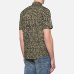 Carhartt WIP Short Sleeve Fuller Camo Stain Green photo- 2