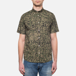 Carhartt WIP Short Sleeve Fuller Camo Stain Green photo- 4