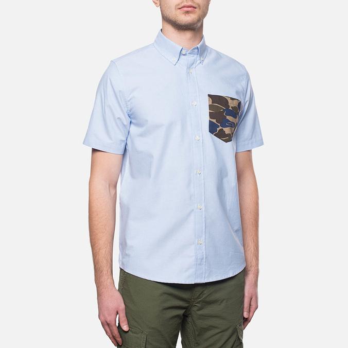 Carhartt WIP Short Sleeve Pritter Sky/Camo Isle/Blue