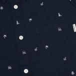 Мужская рубашка Carhartt WIP SS Economy Duke Blue/White фото- 2