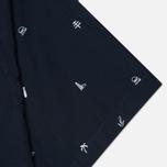 Мужская рубашка Carhartt WIP SS Economy Duke Blue/White фото- 3