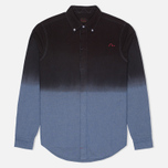 Мужская рубашка Evisu Garment Wash Chambray Black/Blue фото- 0