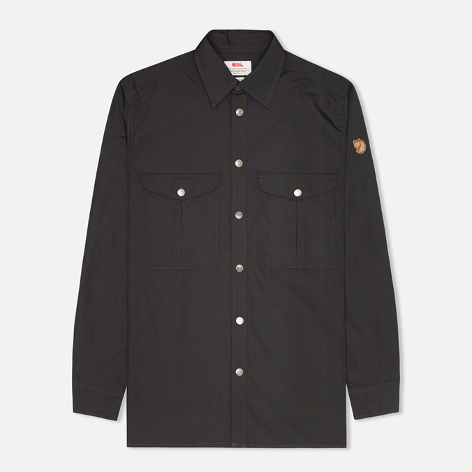Мужская рубашка Fjallraven Greenland Dark Grey