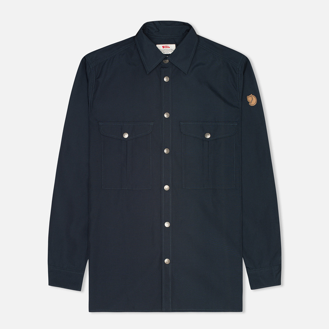 Fjallraven Greenland Men's Shirt Dark Navy