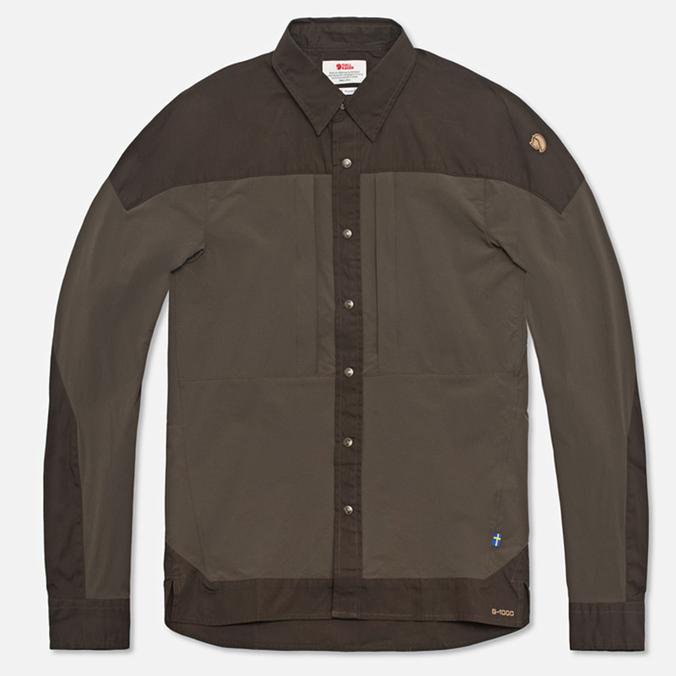 Мужская рубашка Fjallraven Keb Trek Tarmac