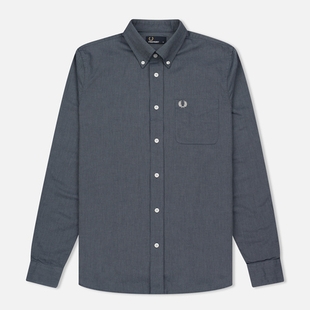 Мужская рубашка Fred Perry Classic Oxford Dark Carbon