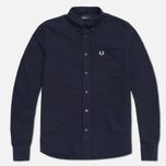Fred Perry Classic Oxford Shirt Navy photo- 0