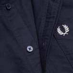 Fred Perry Classic Oxford Shirt Navy photo- 2