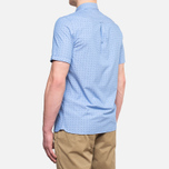 Fred Perry Double Dots Short Sleeve Turquoise photo- 3