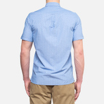 Fred Perry Double Dots Short Sleeve Turquoise photo- 4