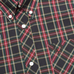 Мужская рубашка Fred Perry Laurel Stewart Tartan Long Sleeve Black фото- 2