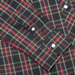 Мужская рубашка Fred Perry Laurel Stewart Tartan Long Sleeve Black фото- 3