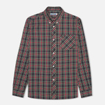 Мужская рубашка Fred Perry Laurel Stewart Tartan Long Sleeve Black фото- 0