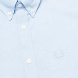 Мужская рубашка Fred Perry Laurel Oxford Sky фото- 2