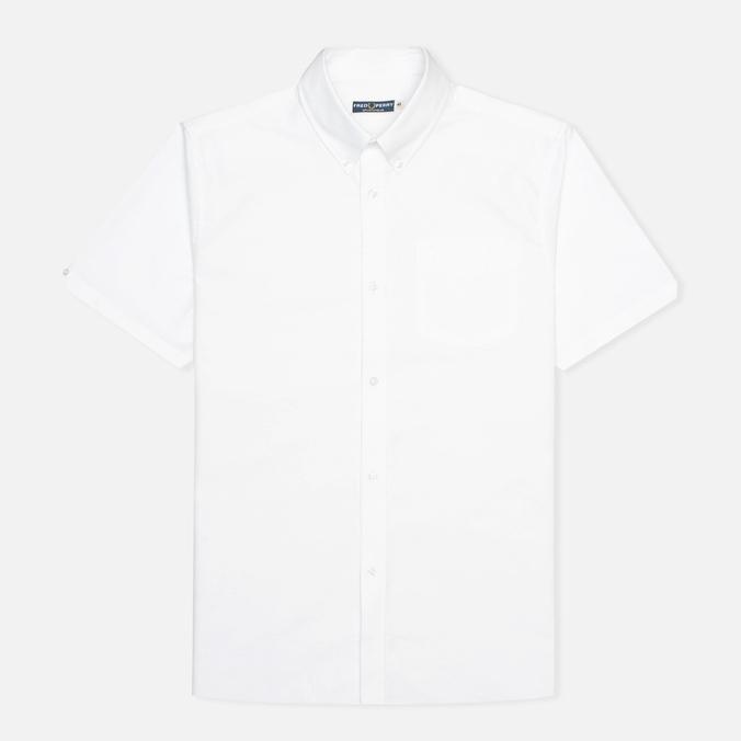 Мужская рубашка Fred Perry Laurel Oxford Short Sleeve White