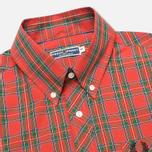 Мужская рубашка Fred Perry Laurel Stewart Tartan Red фото- 1