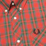 Мужская рубашка Fred Perry Laurel Stewart Tartan Red фото- 2