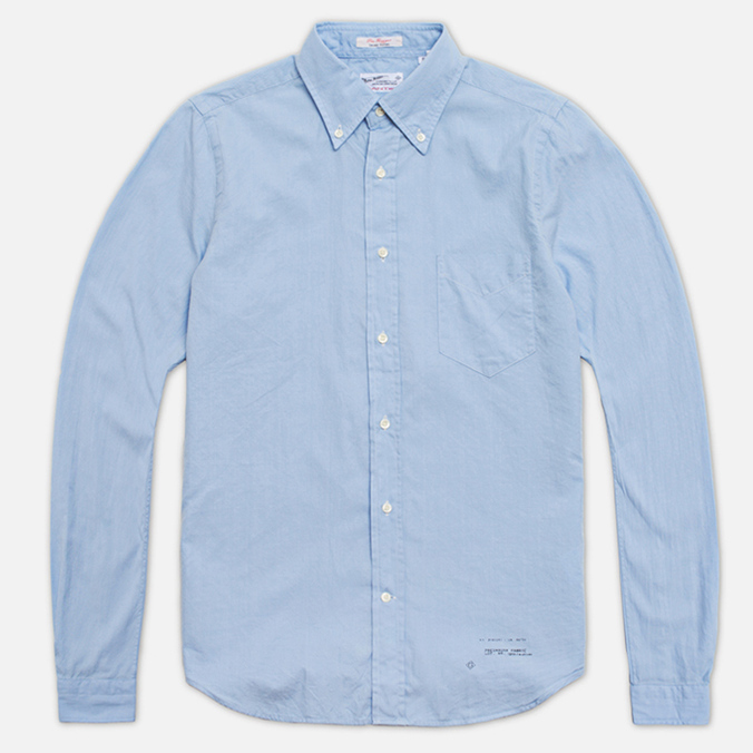 Мужская рубашка Gant Rugger Dreamy Oxford Sea Blue