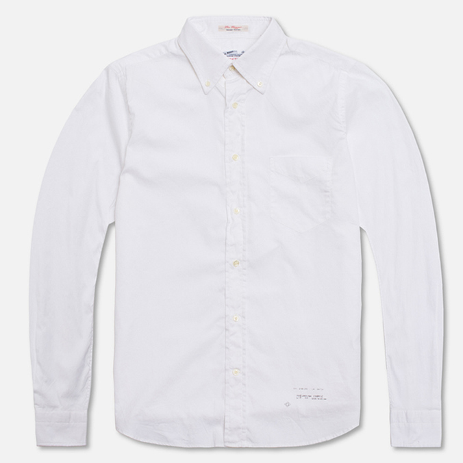 Мужская рубашка Gant Rugger Dreamy Oxford White