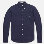 Мужская рубашка Gant Rugger Fluffy Oxford French Navy фото- 0