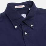 Мужская рубашка Gant Rugger Fluffy Oxford French Navy фото- 1