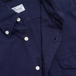 Мужская рубашка Gant Rugger Fluffy Oxford French Navy фото- 2
