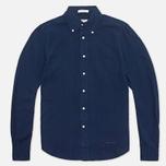 Gant Rugger Indigo Oxford Shirt Dark Indigo photo- 0
