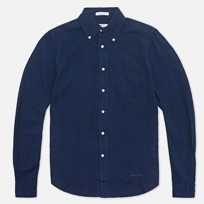 Gant Rugger Indigo Oxford Shirt Dark Indigo