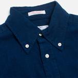 Gant Rugger Indigo Oxford Shirt Dark Indigo photo- 1