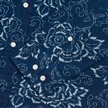 Мужская рубашка Gant Rugger Indigo Oxford Flower Dark Indigo фото- 3