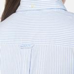 Женская рубашка Gant Yale Co-Op Banker Oxford Sea Blue фото- 6