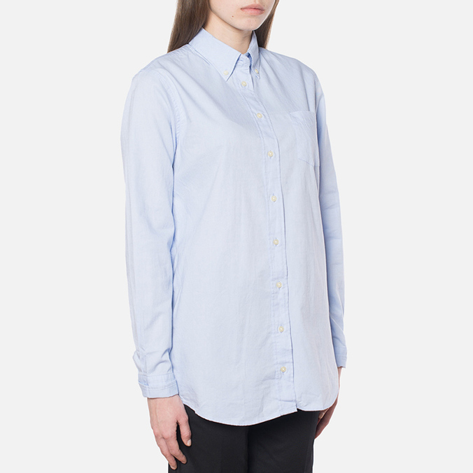 Gant Yale Co-Op Oxford Sea Blue