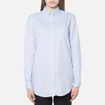Gant Yale Co-Op Oxford Sea Blue photo- 4