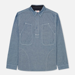 Мужская рубашка Garbstore Pullover Blue фото- 0