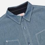 Мужская рубашка Garbstore Pullover Blue фото- 1